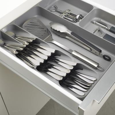 Organizador cubiertos DrawerStore gris