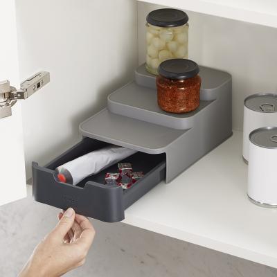 Organizador 3 niveles y cajón