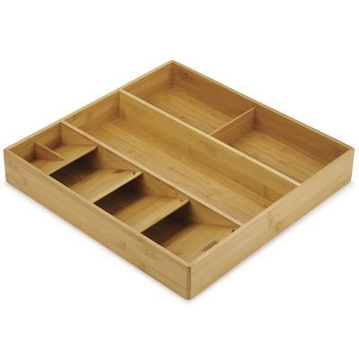 Organizador cubiertos y utensilios bambú