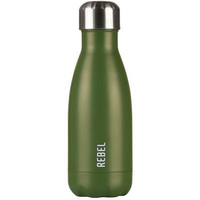 Botella térmica Rebel 280 ml verde mate