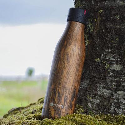 Botella térmica UP 750 ml madera