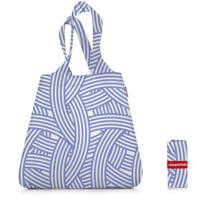 Bolsa compra plegable shopper Zebra