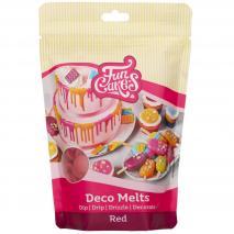 Deco Melts Funcakes 250 gr Rojo
