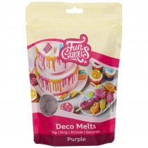 Deco Melts Funcakes 250 gr Púrpura