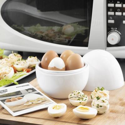 Cocedor de Huevos para microondas Boilegg x4