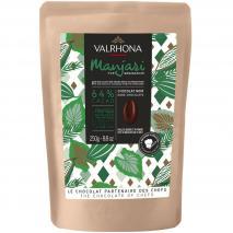 Cobertura xocolata Valrhona Manjari 64% 250g