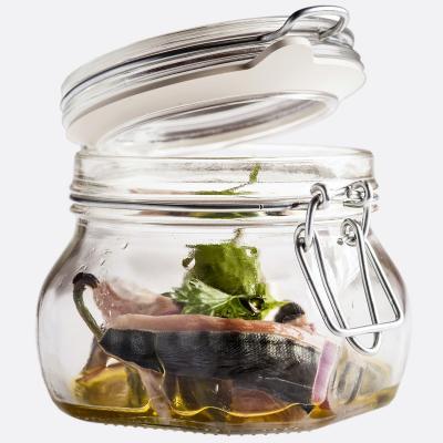 Tarro de cocina cristal con tapa clip Fido