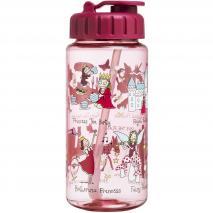 Botella agua con pajita Princess