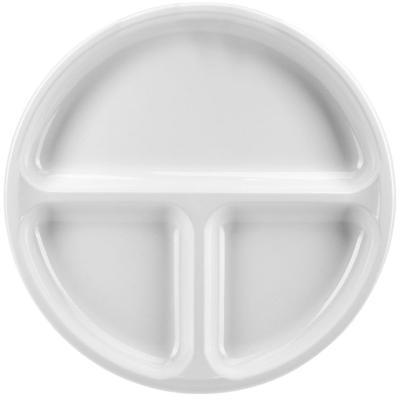 Plato microondas 3 compartimentos 25 cm