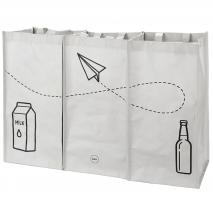 3 bolsas reciclaje basura