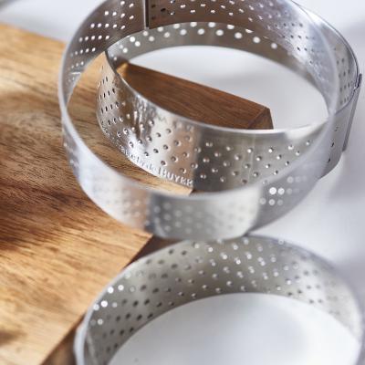 Anillo tarta perforado De Buyer