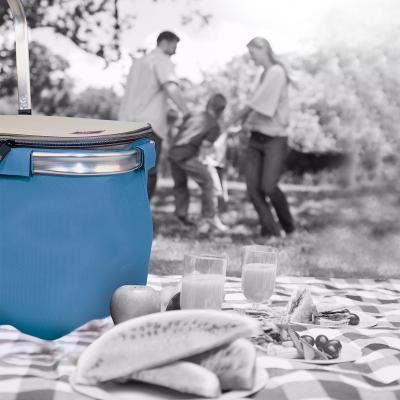 Cesta Picnic Basket 20 L blue collection