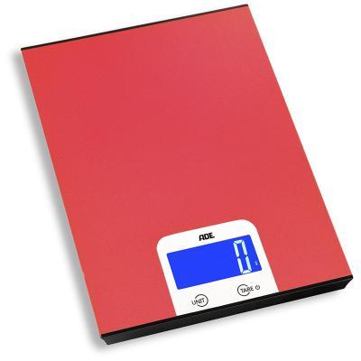 Balanza cocina digital Alessa 5 kg roja