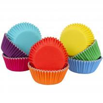 Papel cupcakes x100 colores