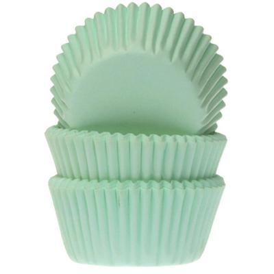 Papel mini cupcakes x60 menta