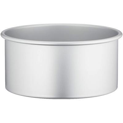 Molde redondo aluminio anodizado 20x10 h cm