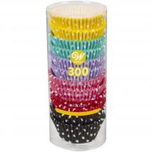 Papel cupcakes x300 Polka dots