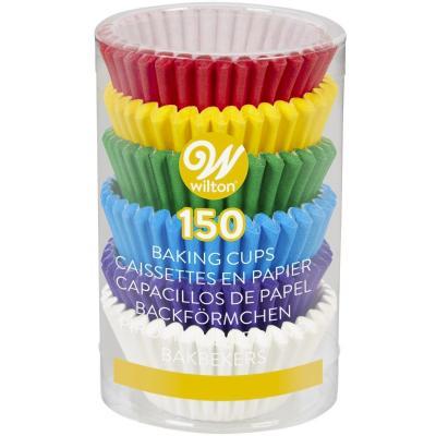 Papel mini cupcakes x 150 Rainbow