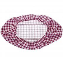 Funda algodón oval para banetton fermentar pan