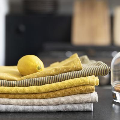 Toalla de cocina Curl 100% algodón blanca