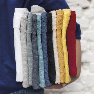 Toalla de cocina Curl 100% algodón con anilla lino