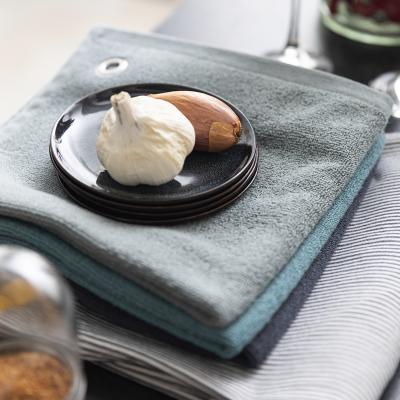 Toalla de cocina Curl 100% algodón lichen
