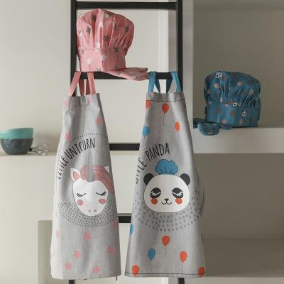 Set delantal de cocina infantil Unicornio