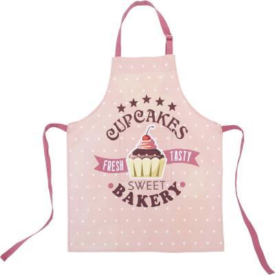 Set delantal cocina infantil 100% algodón Cupcakes