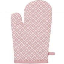 Guante de cocina 100% algodón Dot rosa