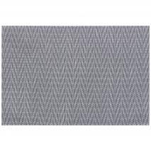 Estovalla individual 30x45 cm Chevron gris