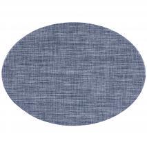 Estovalla individual oval 33x46 cm blau pedra