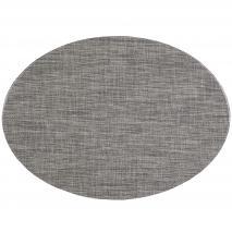 Estovalla individual oval 33x46 cm gris