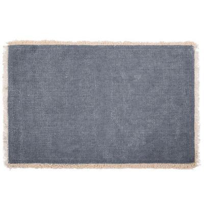 Mantel individual 100% algodón Maya azul piedra