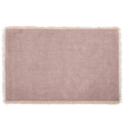 Mantel individual 100% algodón Maya malva