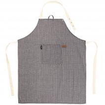Delantal de cocina Sherlock 68x85 cm negro