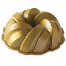 Motllo pastís Nordic Ware Braided Bundt gold