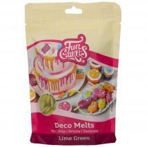 Deco Melts Funcakes 250 gr Verde lima