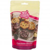 Pepitas de chocolate negro Funcakes 350 g