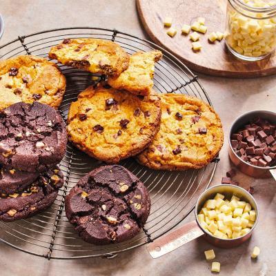 Pepitas de chocolate blanco Funcakes 350 g