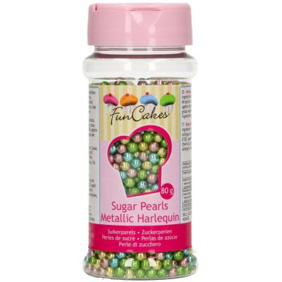 Sprinkles perlas azúcar 80 g Arlequín