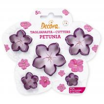 Set 5 cortadores Petunia