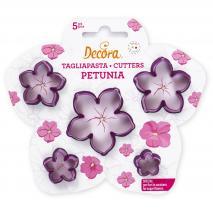 Set 5 talladors Petúnia