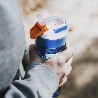 Botella de agua con pajita Lagoon 750 ml Marine
