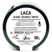 Colorante laca liposoluble polvo 60 g blanco