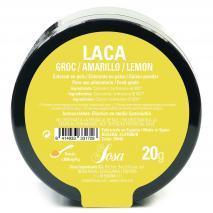 Colorante laca liposoluble polvo 20 g amarillo