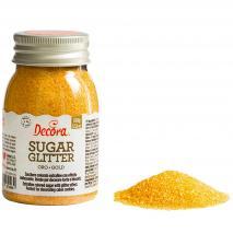 Decoració sucre brillant 100 g or