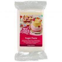 Fondant Funcakes 250 g Blanco Brillante