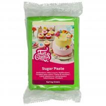 Fondant Funcakes 250 g verde primavera