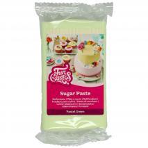 Fondant Funcakes 250 g verd pastel