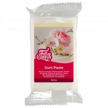 Pasta de goma Funcakes 250 g blanca